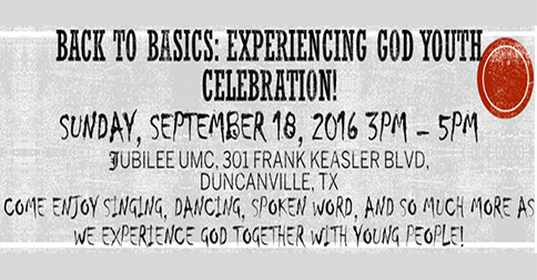 Young People Oriented Workshop Celebration: September 18, 2016